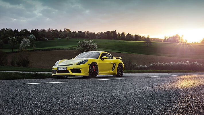 TECHART for 718 Boxster and 718 Cayman