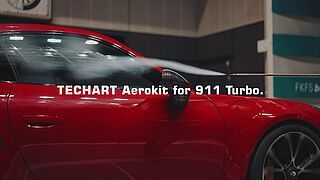 Watch out: new TECHART Aerokit for Porsche 911 Turbo (992).