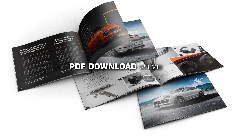 PDF-Download: das TECHART Programm für den Cayenne